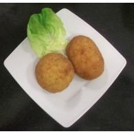 Arancini alla norma (aubergines)